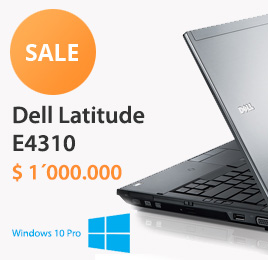 Computador Dell Latitude E4310 con Microsoft Windows 10 Pro